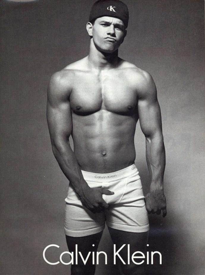 Mark Wahlberg calvin klein 1992