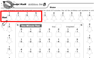 Looking for free worksheets? | Rocket Math