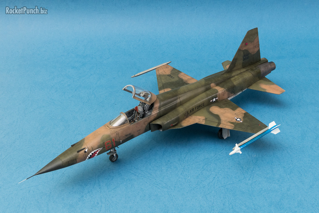 Completed : AFV Club 1/48 Northrop F-5E Tiger II '26th TFTS'