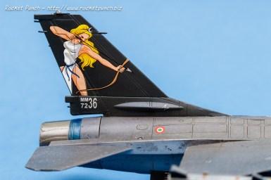 Hasegawa 1/72 Lockheed Martin F-16A ADF 'Aeronautica Militare'