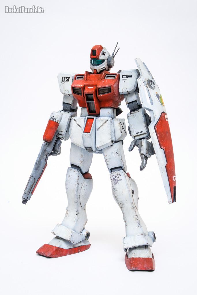 Bandai HGUC 1/144 RGM-79GS GM Space Command
