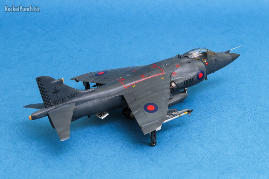 Italeri 1/72 BAe Sea Harrier FRS.1