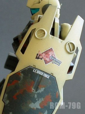 Bandai HGUC 1/144 RGM-79G GM Command