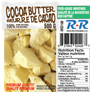 cocoa butter label 2