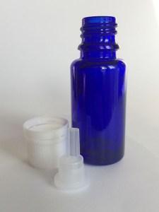 15 ml glass bottle