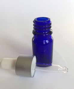 5 ml glass bottle eyedropper