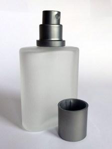 50 ml glass bottle perfume atomizer