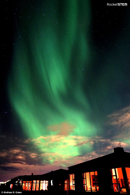 Aurora Borealis in Iceland. Photo: Andrew Green