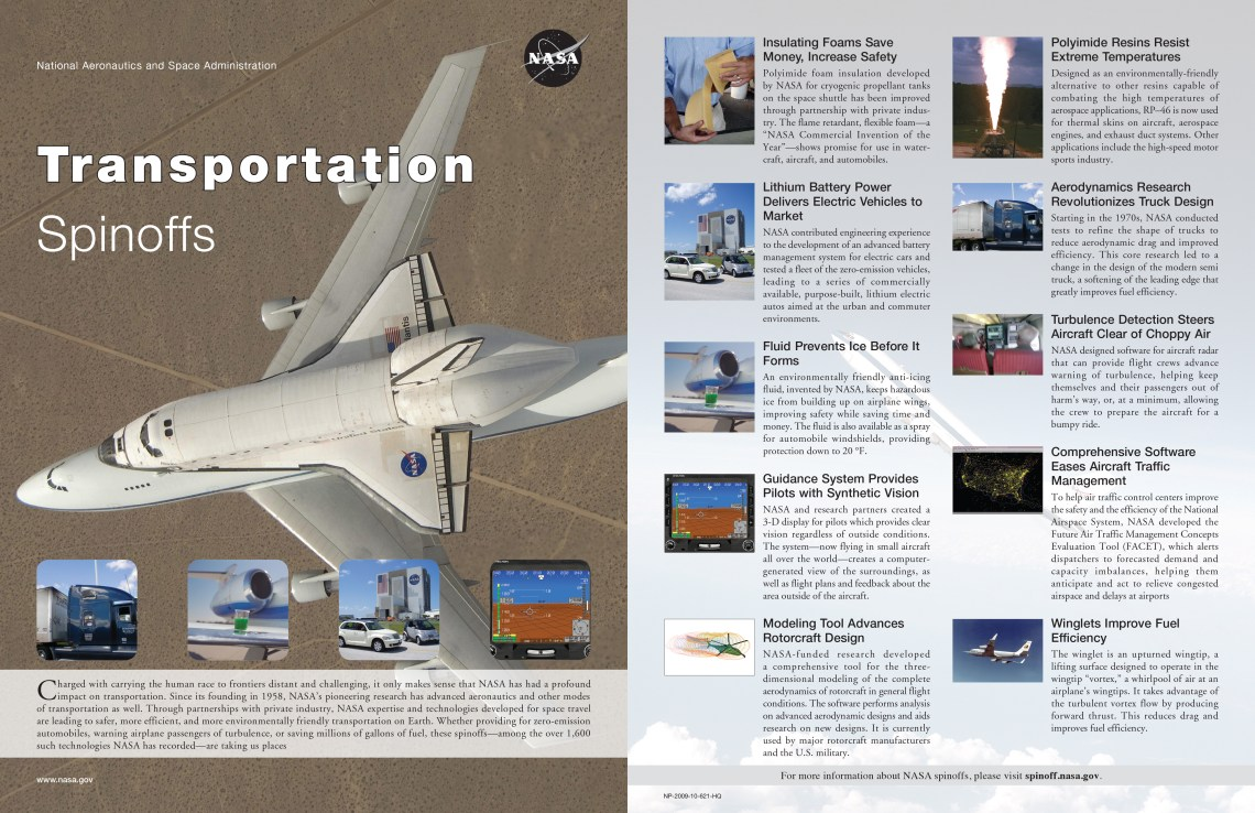 Transportation-Spinoffs-NASA