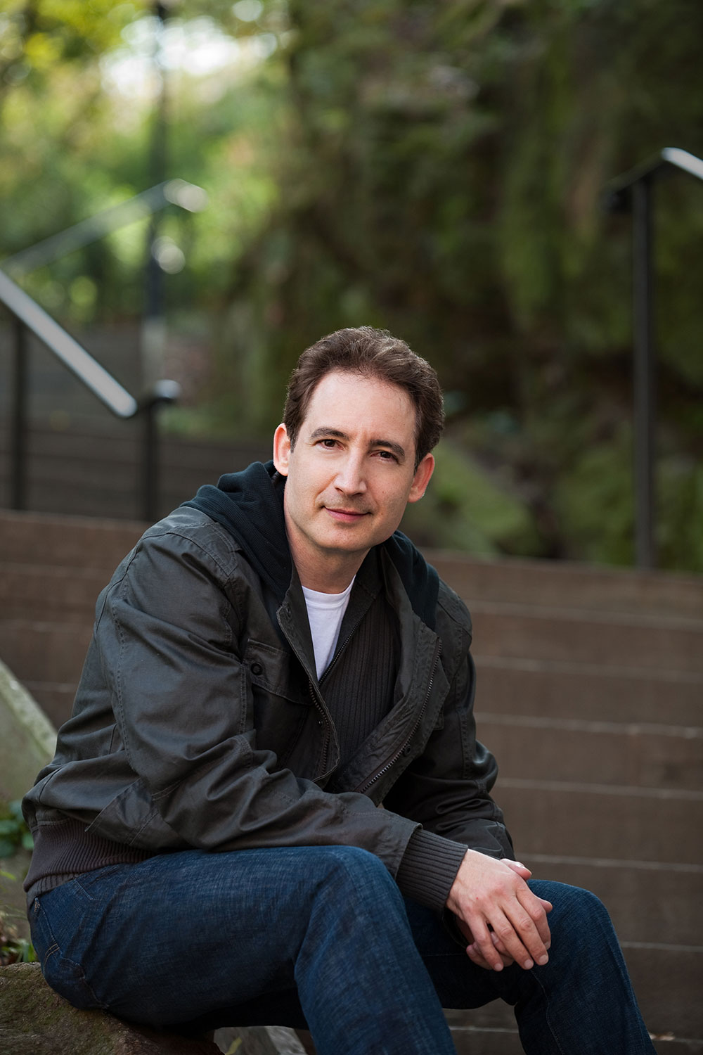Brian Greene has published four books to date: 'The Hidden Reality,' 'Icarus at the Edge of Time,' 'The Fabric of the Cosmos,' and 'The Elegant Universe.' Credit: Lark Elliott/Vintage Books