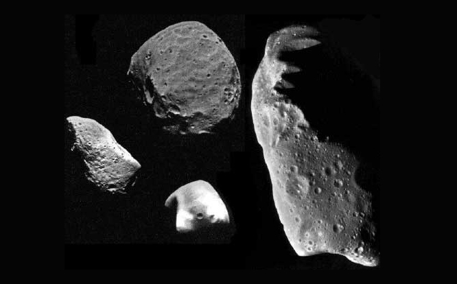 Between 1801 and 1807, four of the largest or brightest asteroids had been discovered: Ceres, Pallas, Juno, and Vesta.