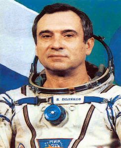 Valeri Polyakov was a cosmonaut from March 1972 until June 1995. He has remained active in space medicine. Credit: New Mexico Museum of Space History