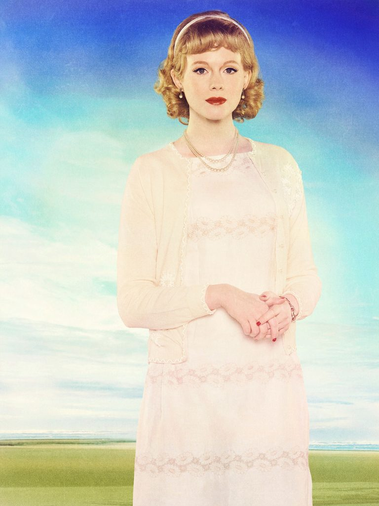 Zoe Boyle as Jo Schirra. Credit: ABC/Bob D'Amico