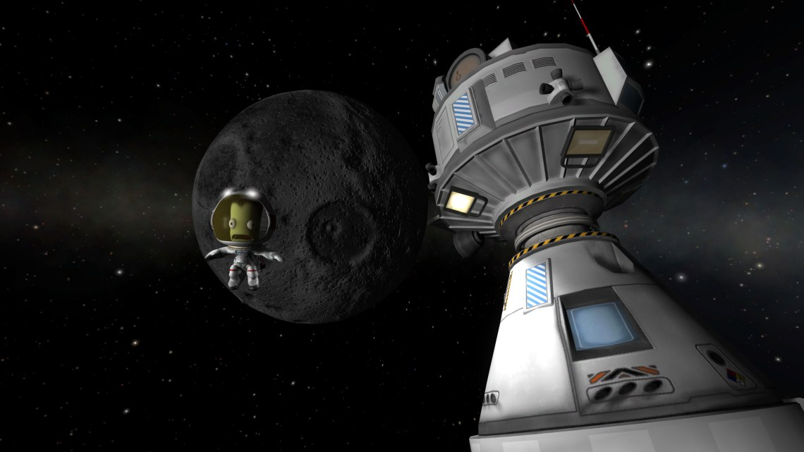Kerbal Space Program allows gamers to design and build their own rocket-powered spacecraft and send them on missions across the solar system to moons, planets and asteroids. Credit: Squad, Monkey Squad S.A de C.V.