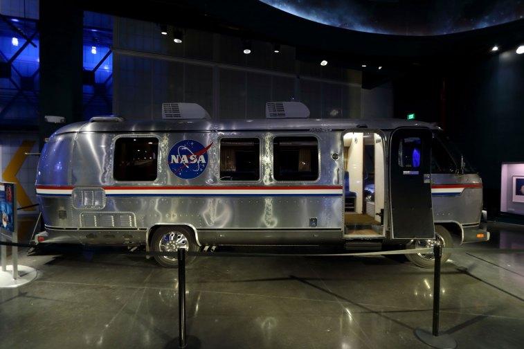 Shuttle era NASA Astrovan. Credit: Lloyd Campbell