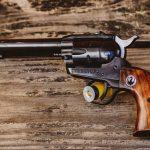 six shooter gun