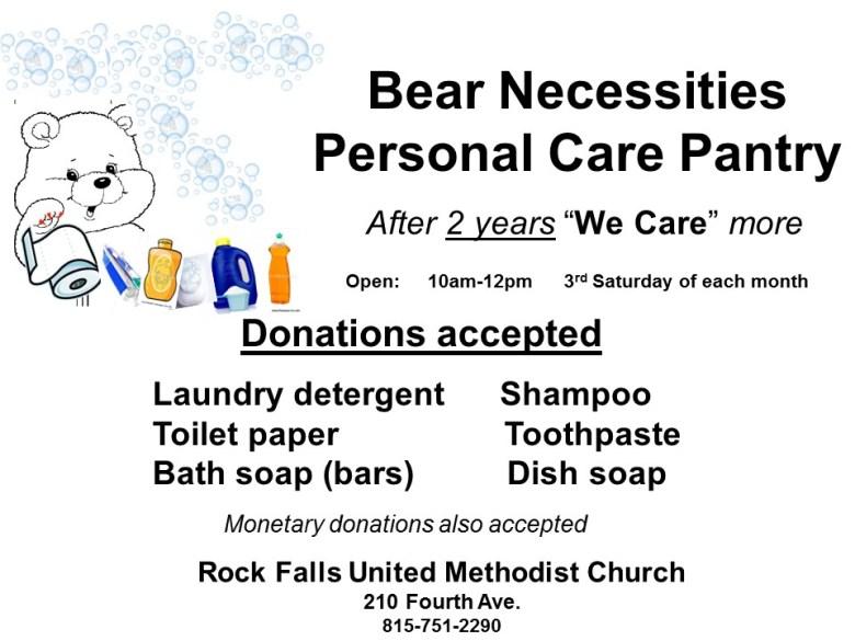 Bear Necessities anniversary