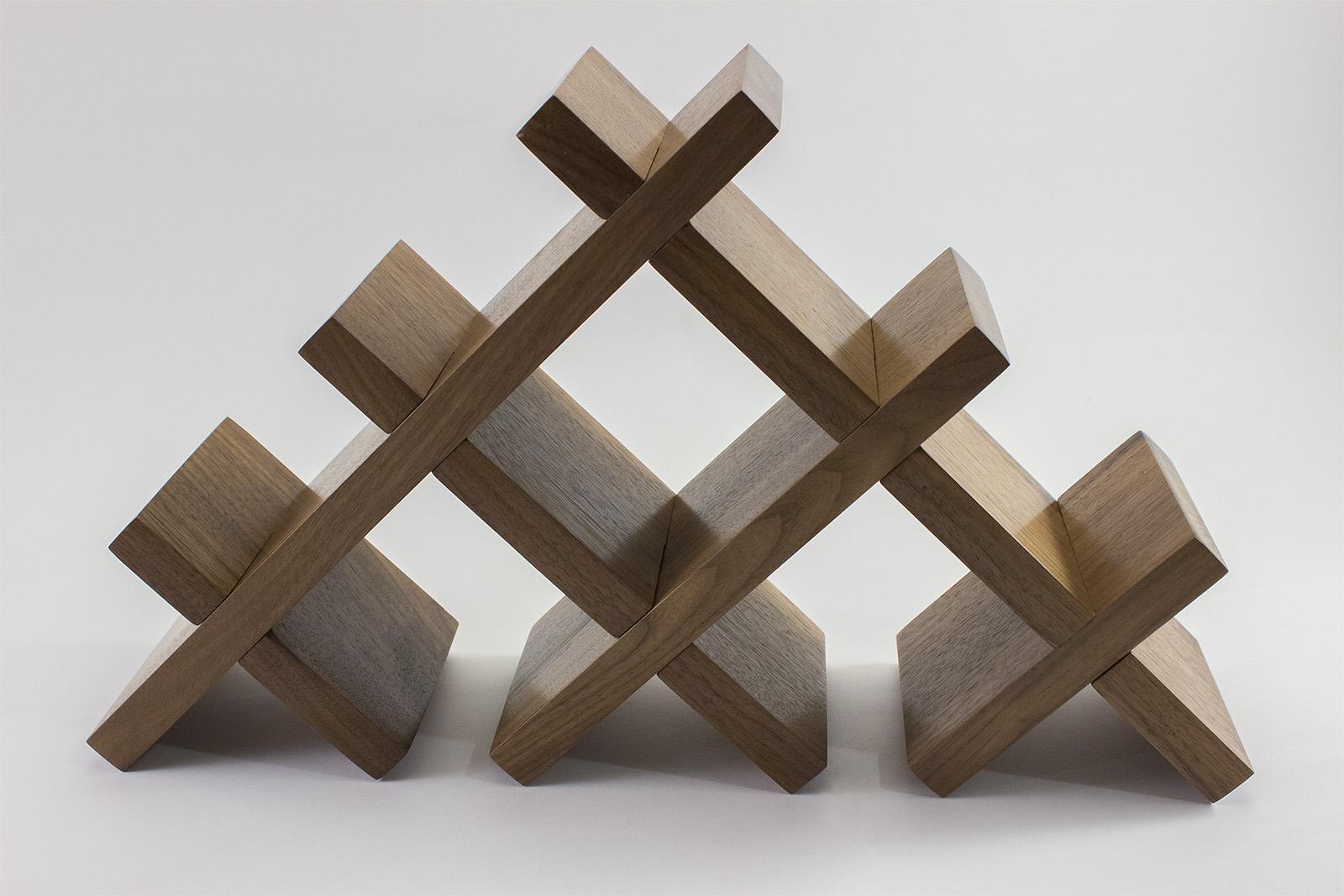 tabletop butterfly wine rack – rockford woodcrafts - tabletop butterfly wine rack