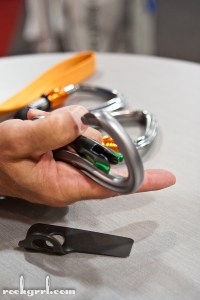 Black Diamond's magnetic locking carabiner