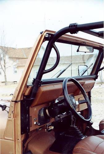 Rock Hard 4x4 Bolt In Ultimate Sport Cage For Jeep Cj7