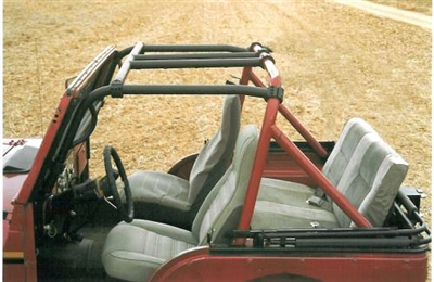 Rock Hard 4x4 Bolt In Ultimate Sport Cage For Jeep Cj5
