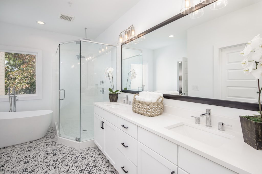 create a tranquil master bath in your