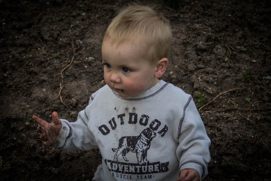 the realities of parenting in the outdoors