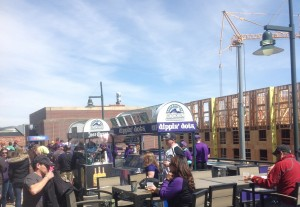 Outside Section 318 - Coors Field