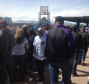 Upper Level - The Rooftop - Coors Field