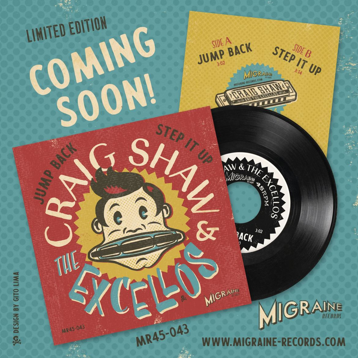 Craig Shaw & The Excellos - Jump Back / Step it Up