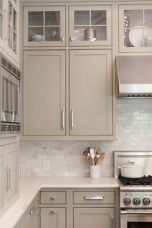 Rustic And Classic Wooden Kitchen Cabinet 6