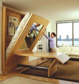 Saving space with creative folding bed ideas 16
