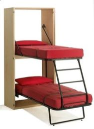 Saving space with creative folding bed ideas 57