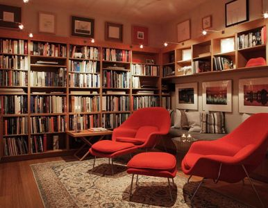 Home Library Design and Decorations Ideas 15