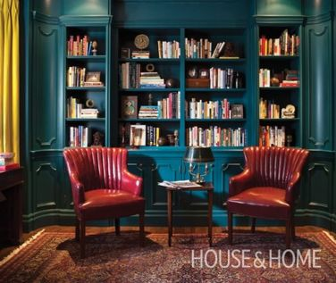 Home Library Design and Decorations Ideas 5