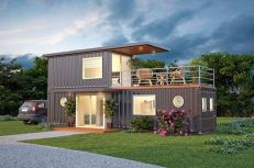 Best shipping container house design ideas 22