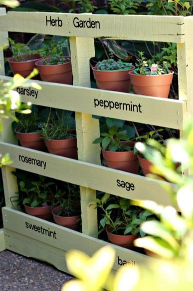 Amazing Creative Wood Pallet Garden Project 30