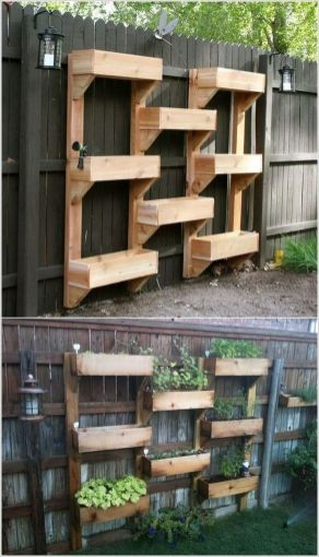 Amazing Creative Wood Pallet Garden Project 48