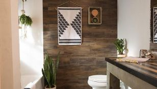 Artistic Pallet, Peel and Stick Wood Wall Design and Decorations 13