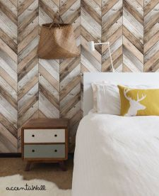Artistic Pallet, Peel and Stick Wood Wall Design and Decorations 30