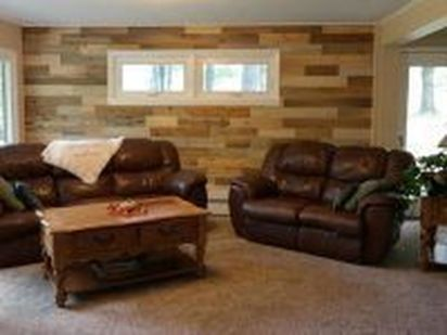 Artistic Pallet, Peel and Stick Wood Wall Design and Decorations 41