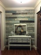 Artistic Pallet, Peel and Stick Wood Wall Design and Decorations 60