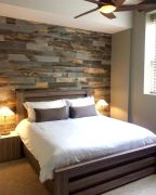 Artistic Pallet, Peel and Stick Wood Wall Design and Decorations 68