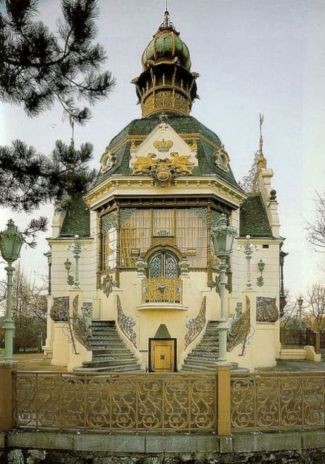 Beautiful art nouveau building architecture design 5