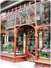 Beautiful art nouveau building architecture design 9