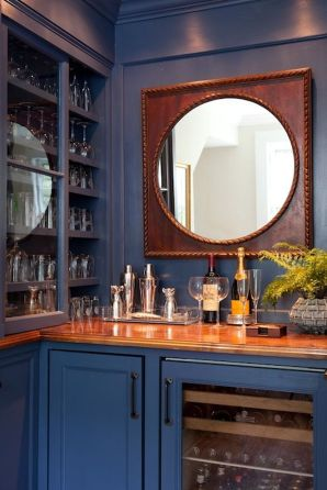Corner bar cabinet for coffe and wine places 4