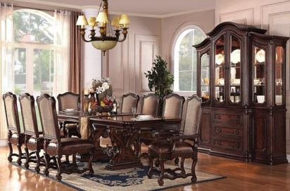 Glorious and Luxury Western Dining Room Design 30
