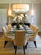 Glorious and Luxury Western Dining Room Design 39