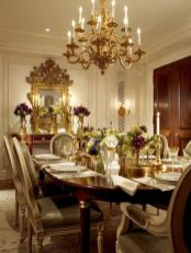 Glorious and Luxury Western Dining Room Design 46