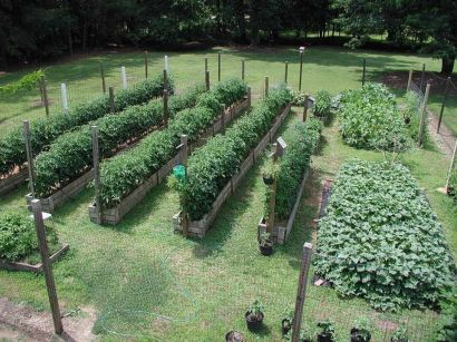 Homestead farm garden layout and design for your home 7